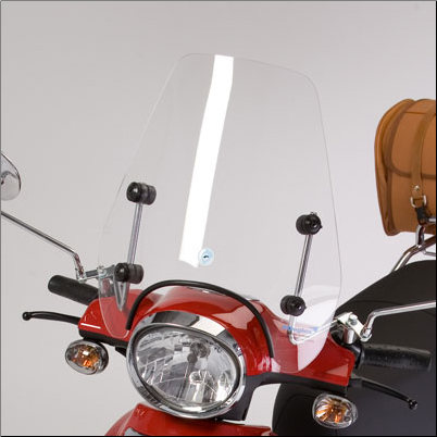 Windscreen, Cuppini Buddy - Short (SKU: WSBUD3)