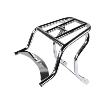 Platform Rear Rack (Chrome) for Stella 2T/4T (SKU: 0200-0123)