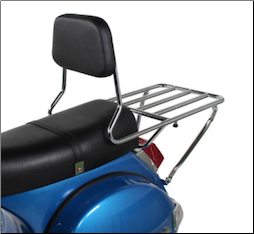 Prima BBQ Rear Rack w/Backrest (SKU: 0200-0153)
