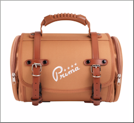 Prima Roll Bag, Small - Brown