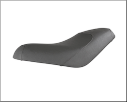 Low Profile Buddy Seat - GRAY (SKU: 0400-1066)