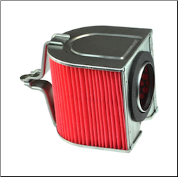 Air Filter, Honda Helix, 85-01, 04-07 (Honda Factory Replacement) (SKU: 17214-KS4-010)
