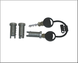 Lock Barrel Set and Keys (SKU: 179292 new sku SF524-0740)