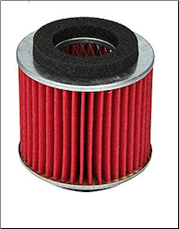 Air Filter, Yamaha Vino 125 (2004+) (Yamaha Factory Replacement) (SKU: 4TE-E4451-00-00)