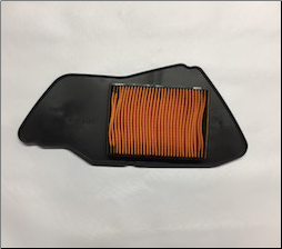 Air Filter, Yamaha Zuma 125 (2009+) (Yamaha Factory Replacement) (SKU: 5S9-E4451-00-00)