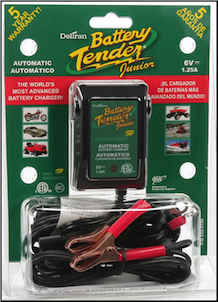 Battery Tender, Jr. 6V Charger (SKU: 56-1122)