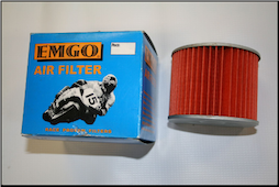 Air Filter, Honda Elite 80, 85-01 (EMGO Aftermarket ) (SKU: 12-43940  78-9311)