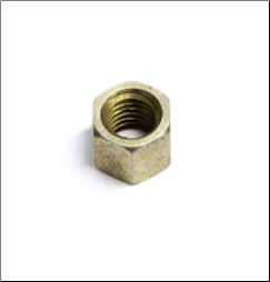 Nut, Rim - 8mm with 11mm o.d.