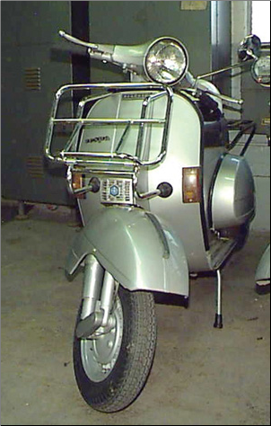 Front Rack, Cuppini Larger - All vintage Vespa/Stella (SKU: FRC2-C)