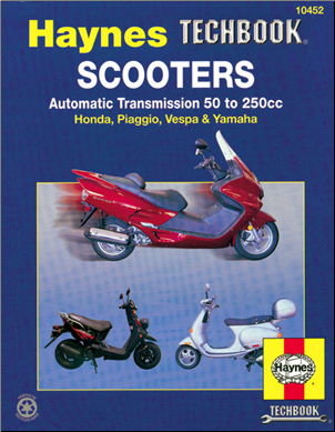 Haynes Manual, Automatic Scooters (SKU: HMSC)