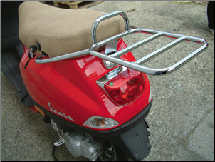 Rear Rack for Top Case - Vespa LX (SKU: LXRRTC)