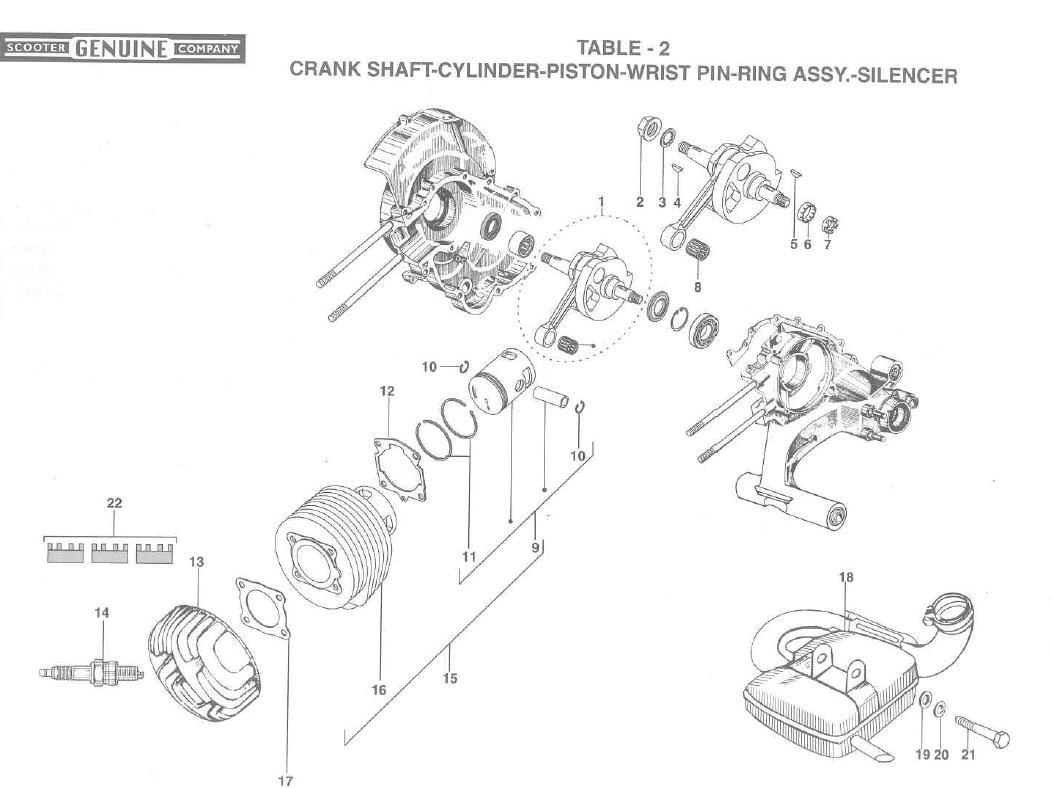 stella crank shaft